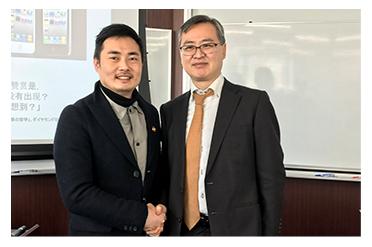 思凯集团CEO陈圣受邀考察软银集团