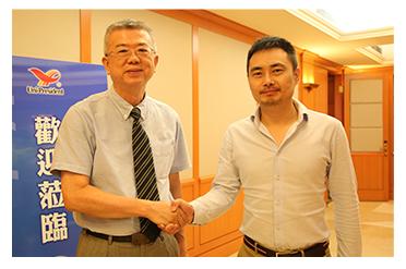 思凯集团CEO陈圣受邀考察统一企业